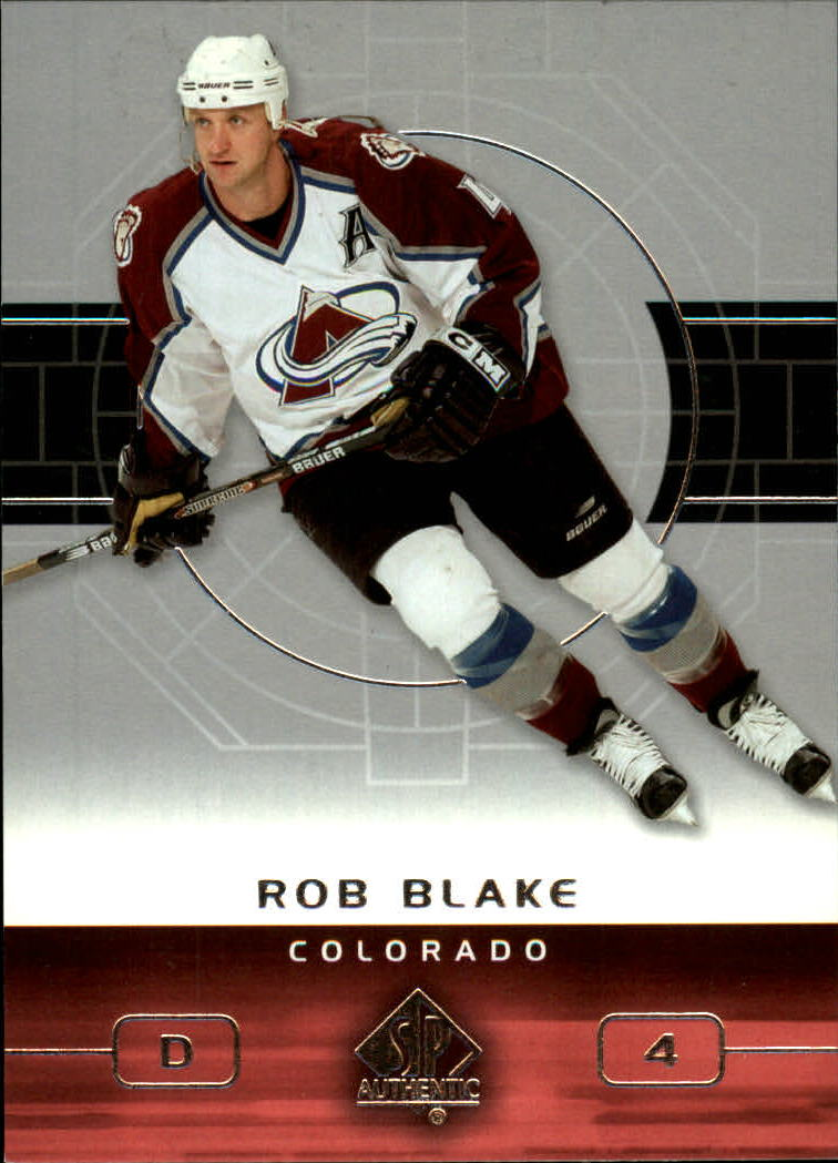 2002-03 SP Authentic #24 Rob Blake