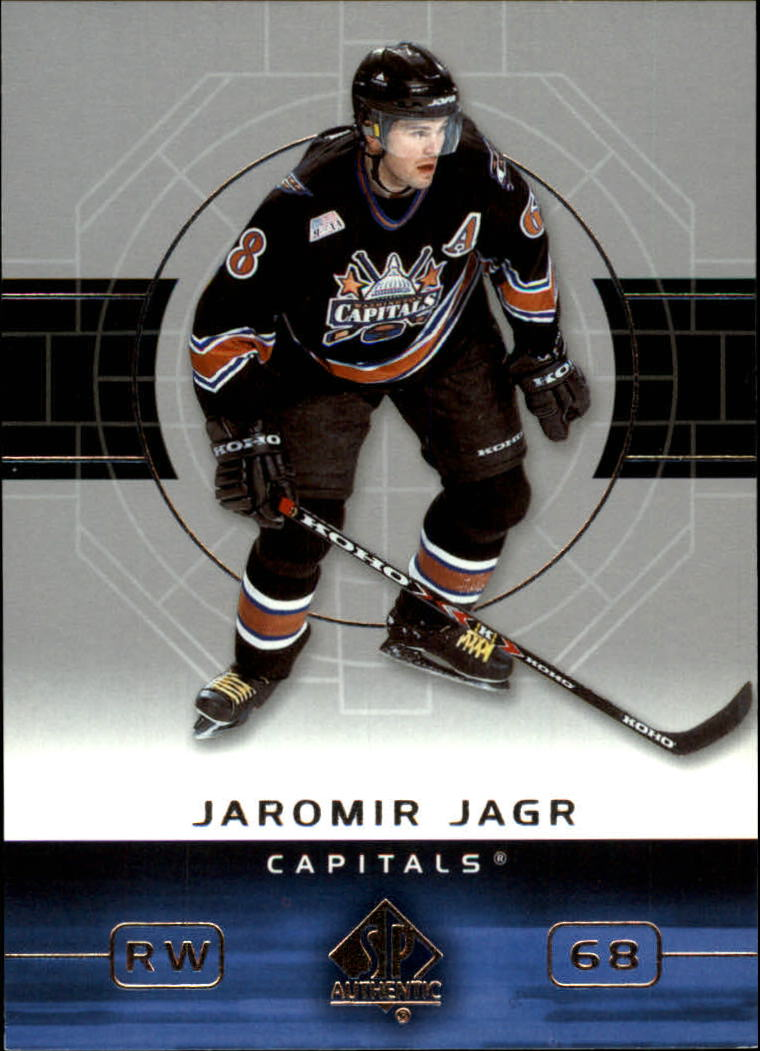 2002-03 SP Authentic #88 Jaromir Jagr