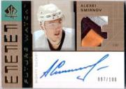2002-03 SP Authentic Signed Patches #PSM Alexei Smirnov