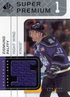 2002-03 SP Authentic Super Premiums #SPZP Zigmund Palffy