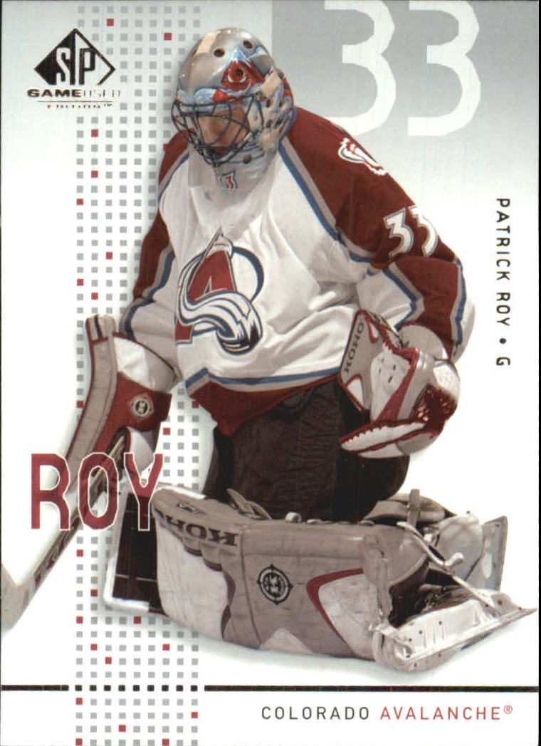 2002-03 SP Game Used #13 Patrick Roy