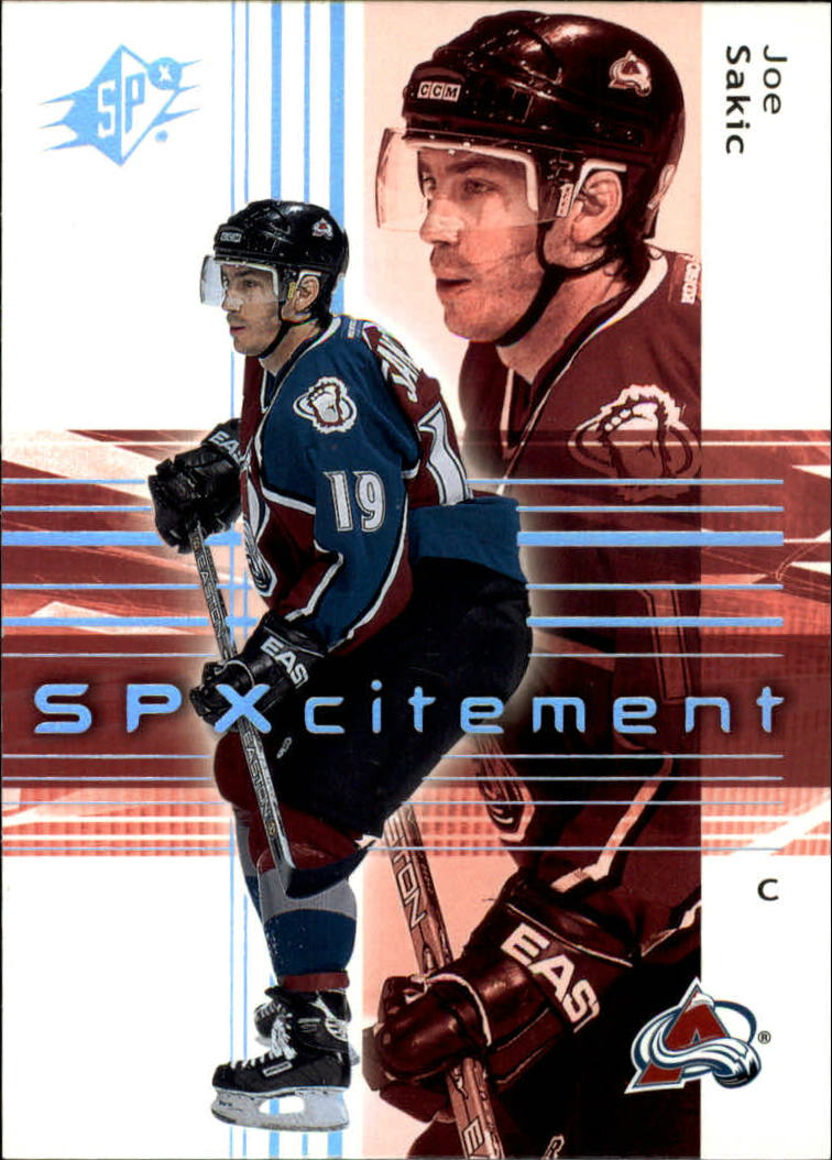 2002-03 SPx #83 Joe Sakic