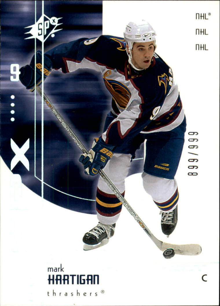 2002-03 SPx #102 Mark Hartigan SP