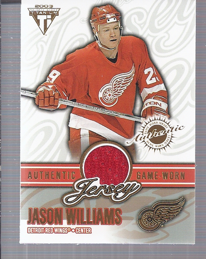2002-03 Titanium Jerseys #27 Jason Williams/1270