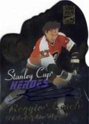 2002-03 Topps Stanley Cup Heroes Autographs #SCHRL Reggie Leach