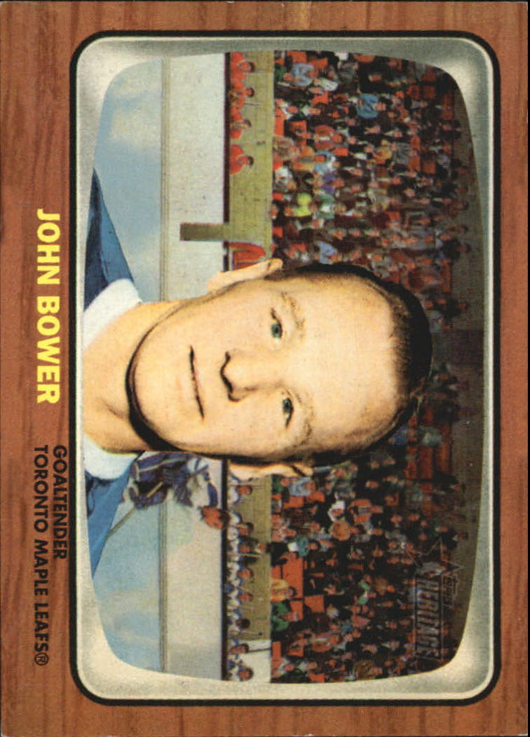 2002-03 Topps Heritage Reprints #JB Johnny Bower