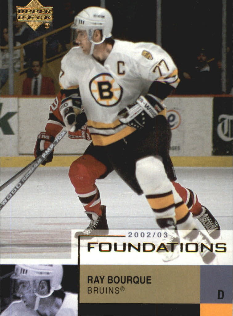 2002-03 UD Foundations #6 Ray Bourque