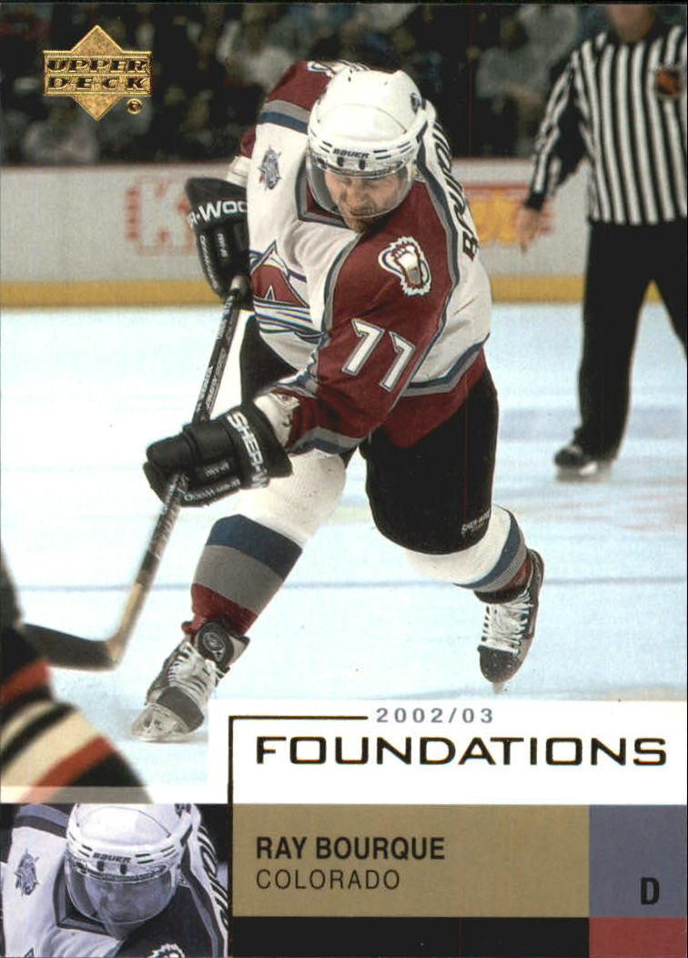 2002-03 UD Foundations #18 Ray Bourque