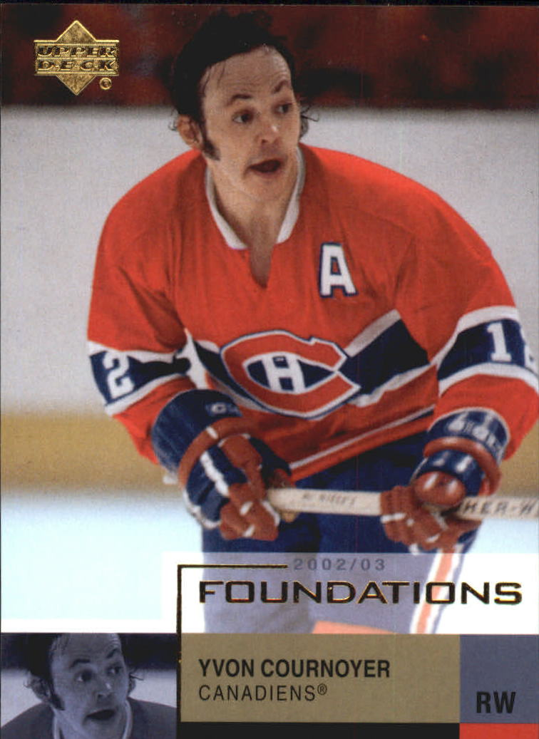 2002-03 UD Foundations #57 Yvan Cournoyer