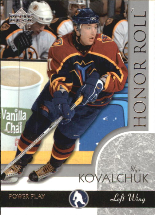 2002-03 Upper Deck Honor Roll #3 Ilya Kovalchuk