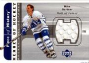 2002-03 UD Piece of History Heroes Jerseys #HHMG Mike Gartner