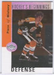 2002-03 UD Piece of History Hockey Beginnings #HB1 Bobby Orr front image