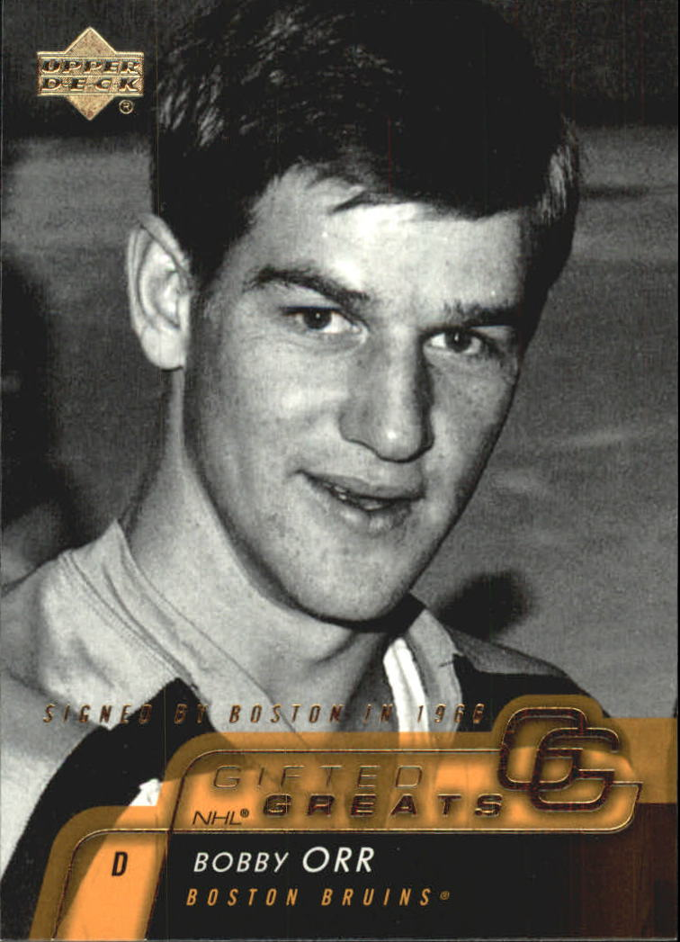 2002-03 Upper Deck Gifted Greats #GG2 Bobby Orr front image