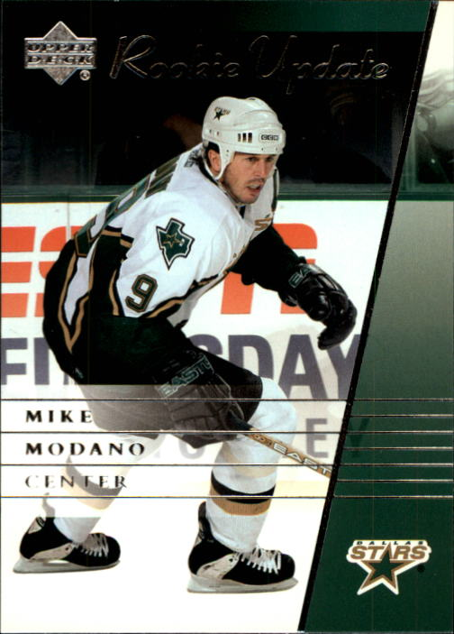 2002-03 Upper Deck Rookie Update #31 Mike Modano