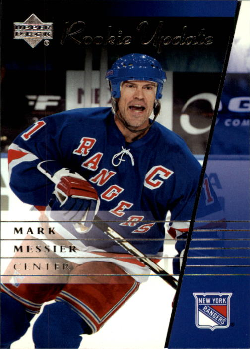 2002-03 Upper Deck Rookie Update #67 Mark Messier