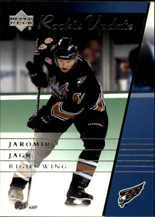 2002-03 Upper Deck Rookie Update #98 Jaromir Jagr