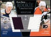 2002-03 Upper Deck Rookie Update #152A A.Hall RC/J.LeClair