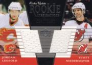 2002-03 Upper Deck Rookie Update #155C J.Leopold RC/S.Niedermayer