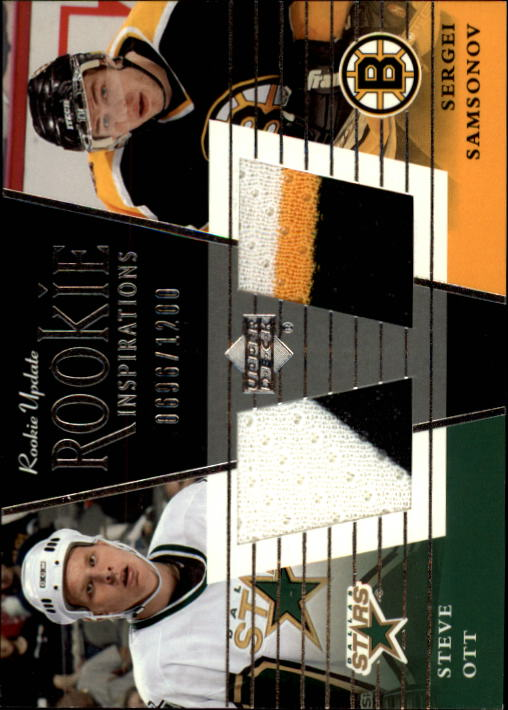 2002-03 Upper Deck Rookie Update #157B S.Ott RC/S.Samsonov
