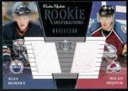 2002-03 Upper Deck Rookie Update #158B A.Hemsky RC/M.Hejduk