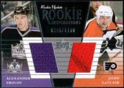 2002-03 Upper Deck Rookie Update #159A Alexander Frolov RC/John LeClair/400*