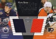 2002-03 Upper Deck Rookie Update #160A J.Stoll RC/J.LeClair