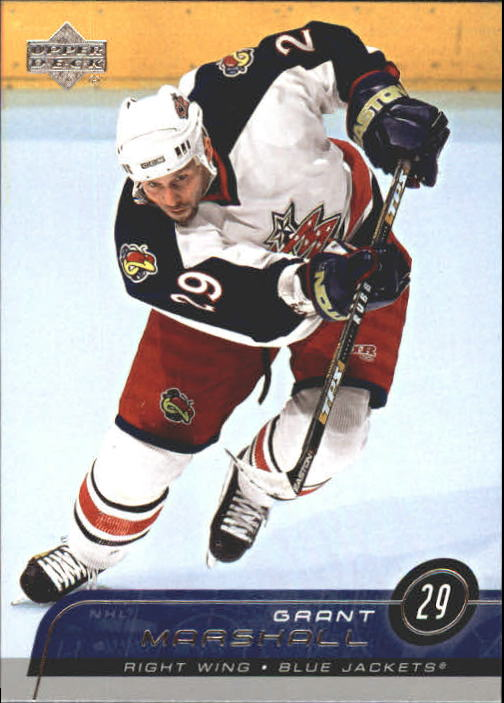 2002-03 Upper Deck #51 Grant Marshall