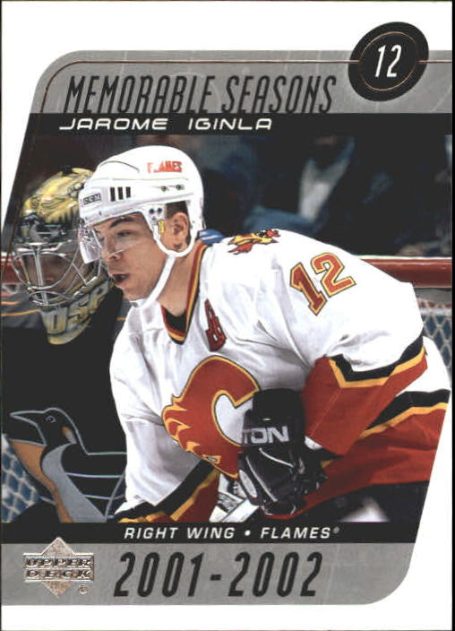 2002-03 Upper Deck #183 Jarome Iginla MS