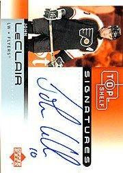 2002-03 UD Top Shelf Signatures #JL John LeClair