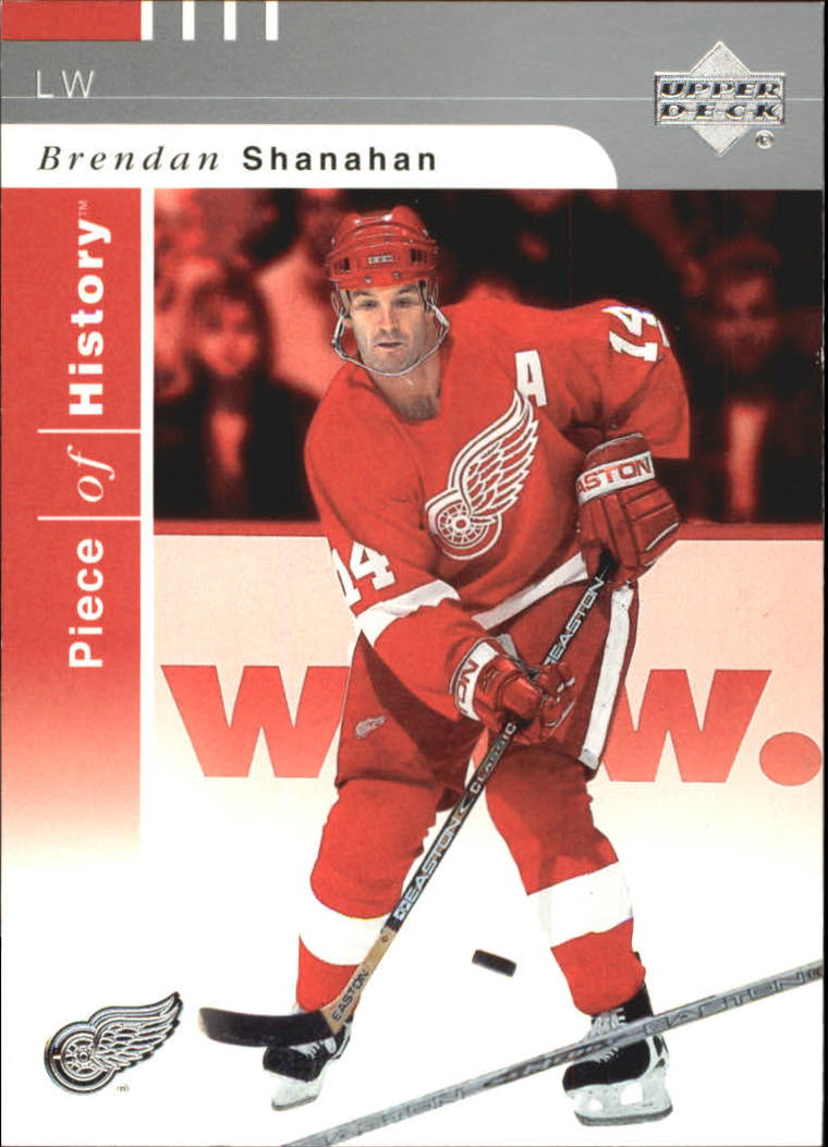 2002-03 UD Piece of History #37 Brendan Shanahan