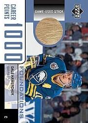 2002-03 Upper Deck Foundations 1000 Point Club #HA Dale Hawerchuk STK