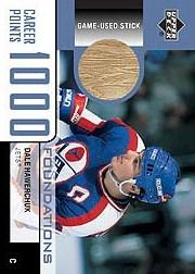 2002-03 Upper Deck Foundations 1000 Point Club #HA2 Dale Hawerchuk STK