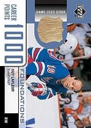 2002-03 UD Foundations 1000 Point Club #LA1 Guy Lafleur STK