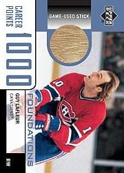 2002-03 UD Foundations 1000 Point Club #LA2 Guy Lafleur STK