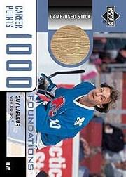 2002-03 UD Foundations 1000 Point Club #LA3 Guy Lafleur STK