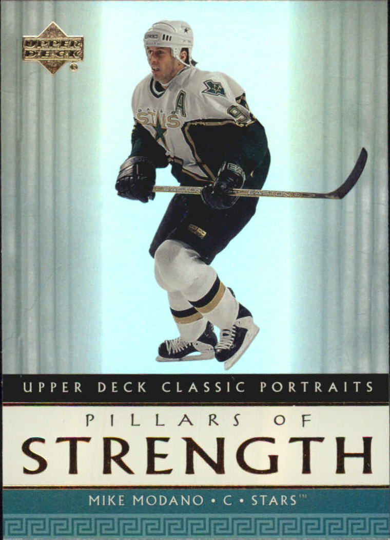 2002-03 Upper Deck Classic Portraits Pillars of Strength #PS4 Mike Modano