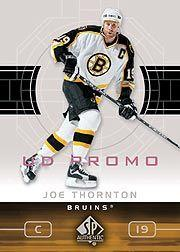 2002-03 SP Authentic UD Promos #6 Joe Thornton