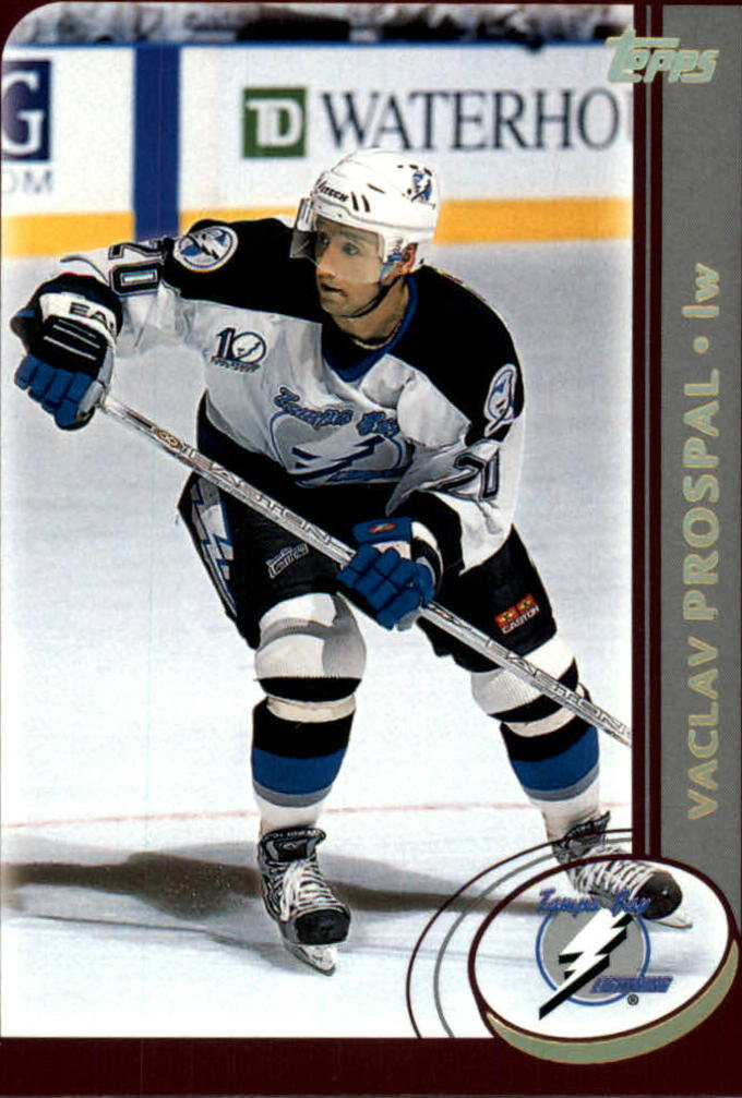 2002-03 Topps Factory Set Gold #109 Vaclav Prospal