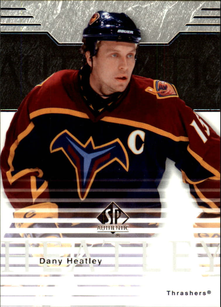 2003-04 SP Authentic #4 Dany Heatley