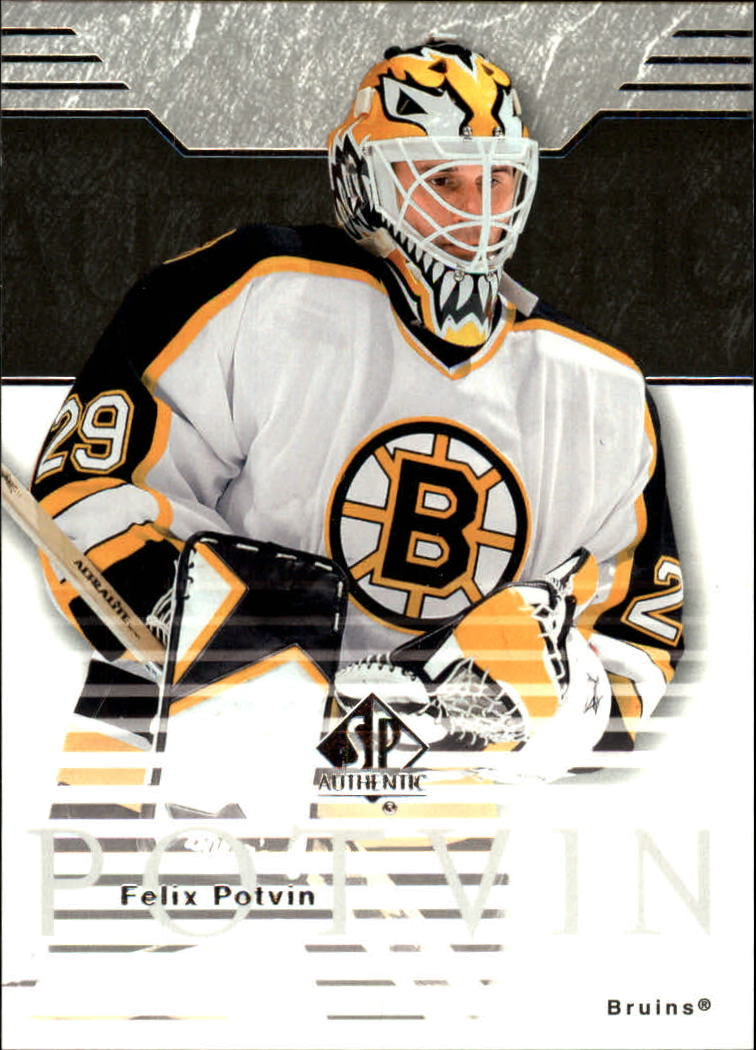 2003-04 SP Authentic #6 Felix Potvin