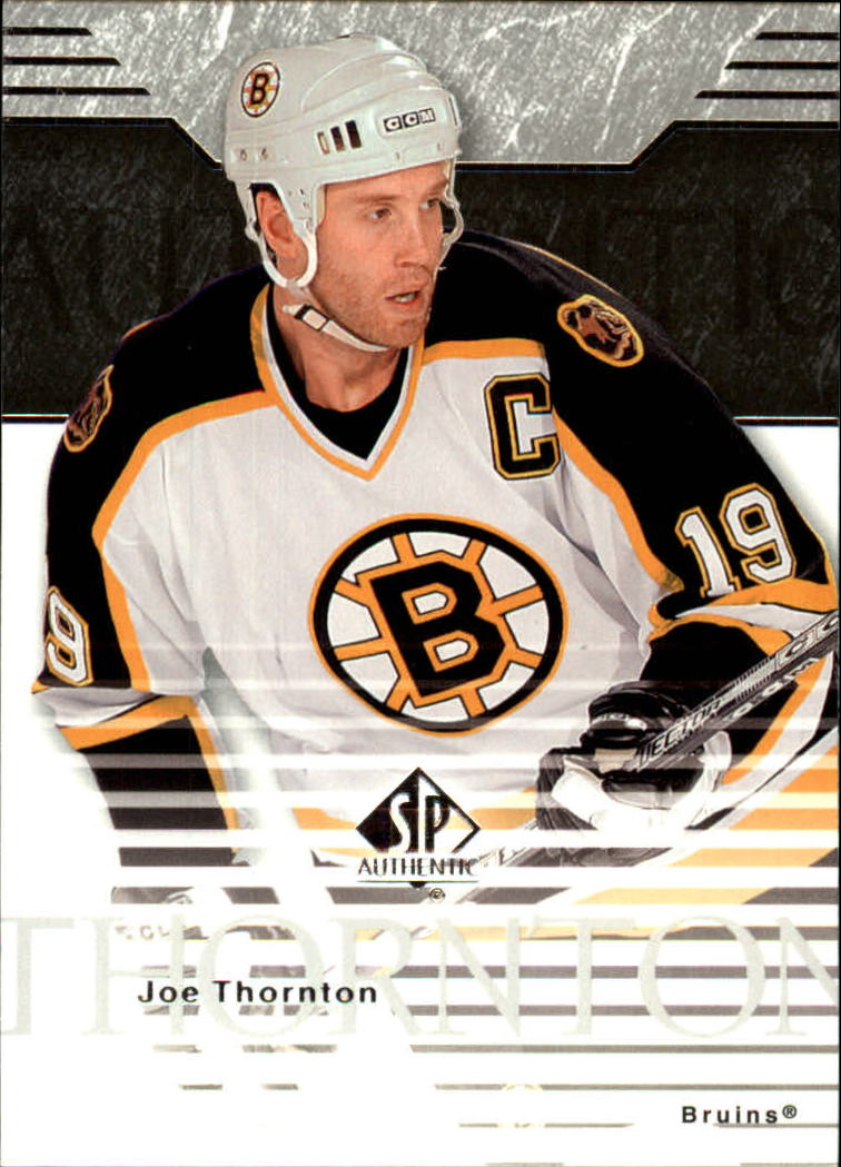 2003-04 SP Authentic #7 Joe Thornton
