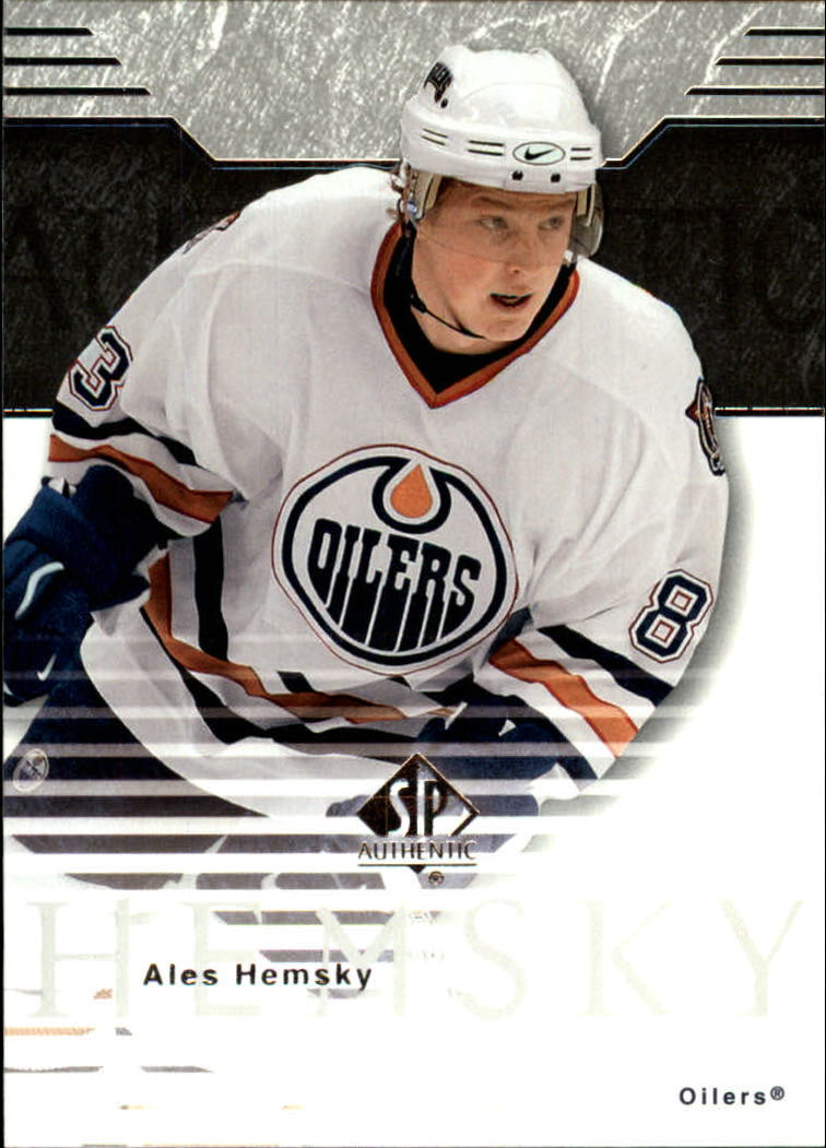 2003-04 SP Authentic #32 Ales Hemsky