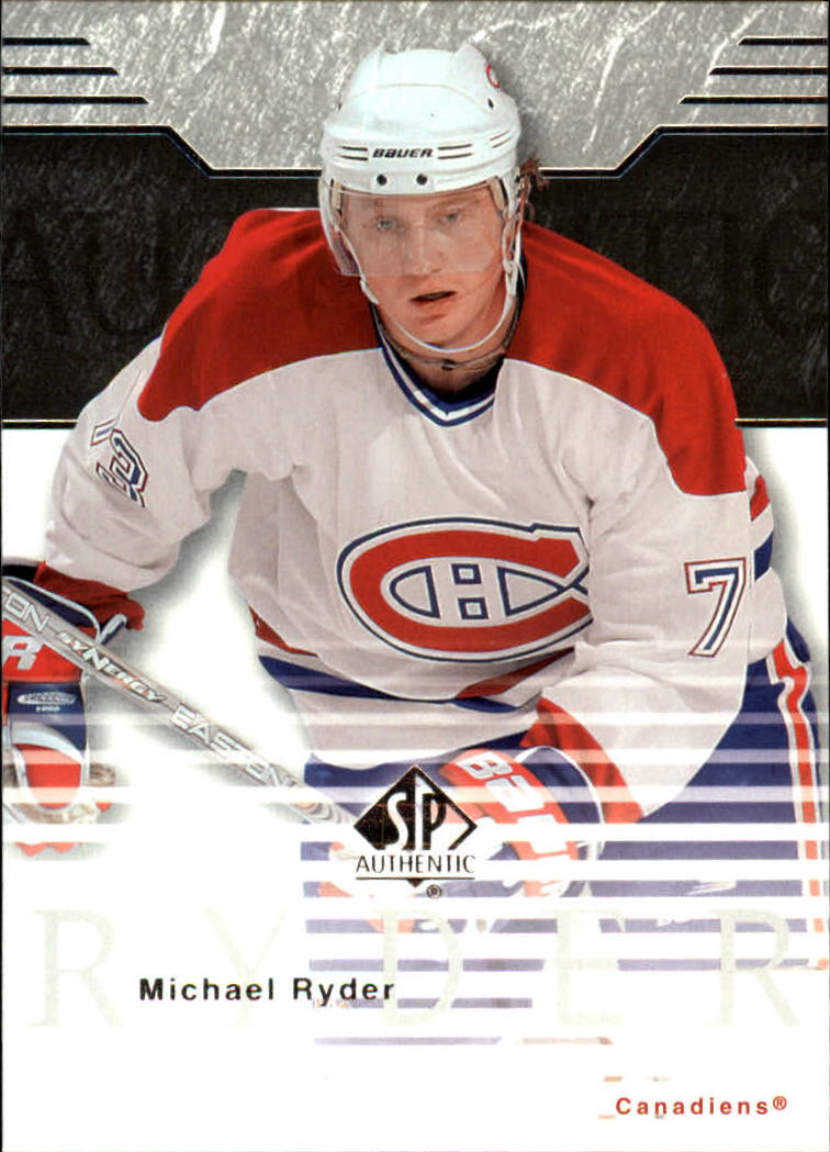 2003-04 SP Authentic #47 Michael Ryder