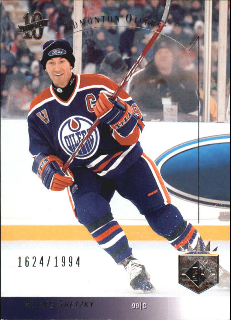 2003-04 SP Authentic 10th Anniversary #SP1 Wayne Gretzky