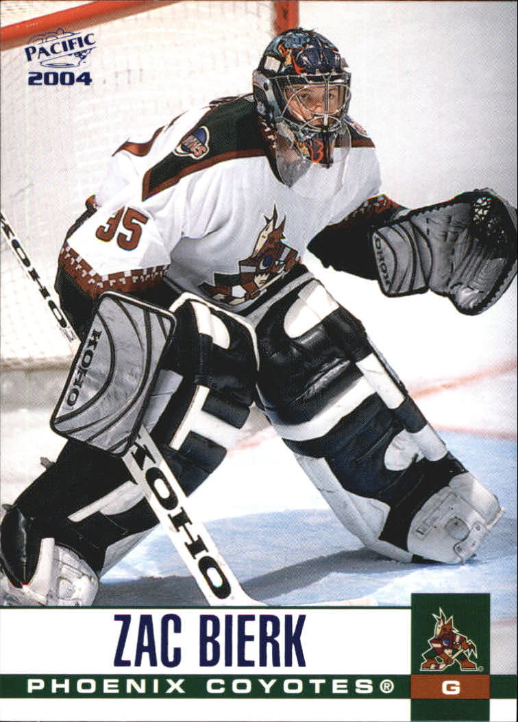 2003-04 Pacific Blue #258 Zac Bierk