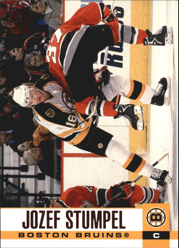 2003-04 Pacific Red #33 Jozef Stumpel front image