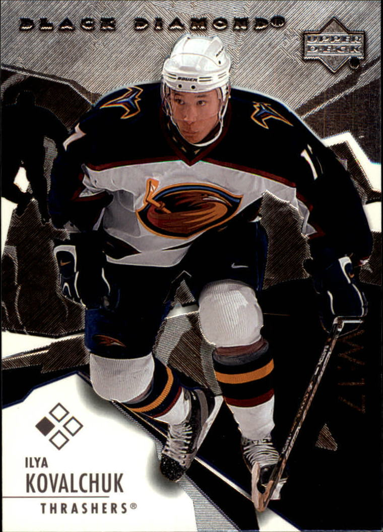2003-04 Black Diamond #51 Ilya Kovalchuk