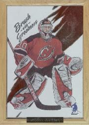 2003-04 BAP Memorabilia Brush with Greatness #2 Martin Brodeur