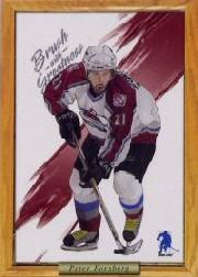2003-04 BAP Memorabilia Brush with Greatness #5 Peter Forsberg