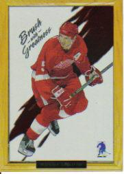 2003-04 BAP Memorabilia Brush with Greatness #11 Nicklas Lidstrom